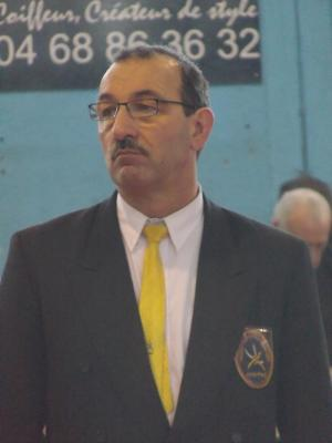 Patrick Deagostini , Président de Judo Canet 66